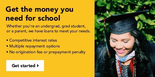 Sallie Mae Smart Option Student Loan Advertising Banner