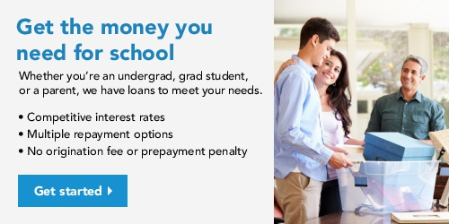 Sallie Mae Smart Option Student Loan Ad Banner