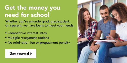 Sallie Mae Student Loan Ad Banner